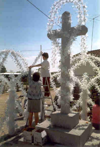 Como Decorar Una Cruz De Madera Para Semana Santa